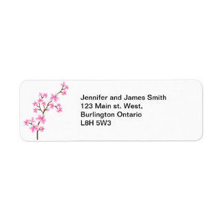 Cherry Blossom - Return Address