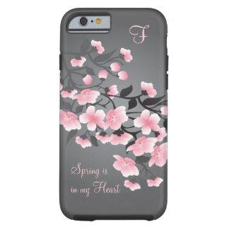 Cherry blossom (Sakura) Monogram Tough iPhone 6 Case