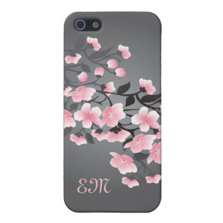 Cherry blossom (Sakura) Monogram iPhone 5/5S Cases