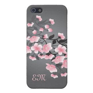 Cherry blossom (Sakura) Monogram iPhone 5/5S Cover