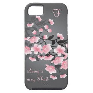 Cherry blossom (Sakura) Monogram iPhone 5 Case