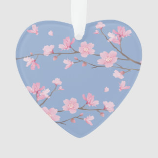 Cherry Blossom - Serenity Blue - HAPPY ANNIVERSARY