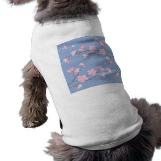 Cherry Blossom - Serenity Blue Shirt