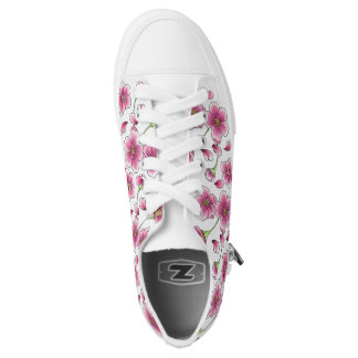 Cherry Blossom Shoes Printed Shoes
