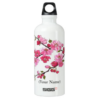 "CHERRY BLOSSOM ""SIGG"" .6L TRAVELLER WATER BOTTLE SIGG TRAVELLER 0.6L WATER BOTTLE"