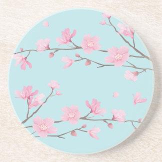 Cherry Blossom - Sky Blue Coaster