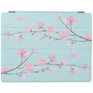 Cherry Blossom - Sky Blue iPad Cover