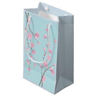 Cherry Blossom - Sky Blue Small Gift Bag