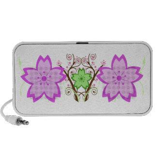 Cherry Blossom iPod Speaker