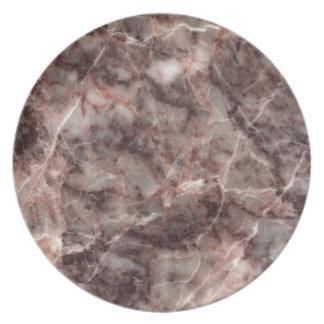 Cherry Blossom Stone Pattern Background - Stunning Plate