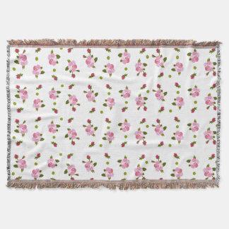 Cherry Blossom Throw Blanket