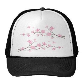 Cherry Blossom - Transparent-Background Cap