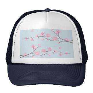 Cherry Blossom - Transparent-Background Cap