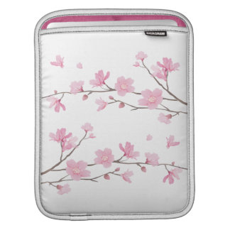 Cherry Blossom - Transparent Background iPad Sleeves