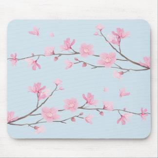 Cherry Blossom - Transparent-Background Mouse Mat