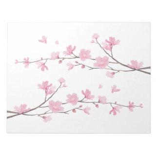 Cherry Blossom - Transparent Background Notepad