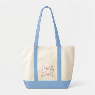 Cherry Blossom - Transparent Background Tote Bag
