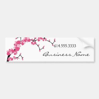 Cherry Blossom Tree Branch Bumper Sticker