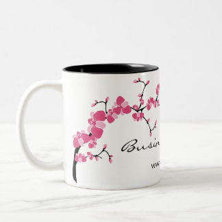 Cherry Blossom Tree Branch Customisable Coffee Mug