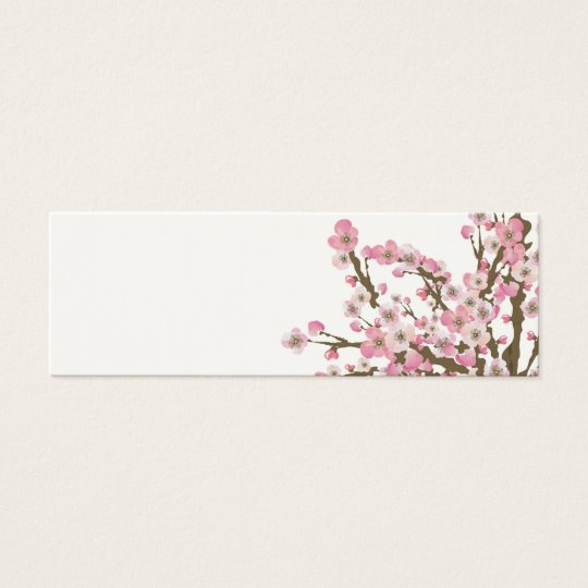Cherry blossom tree Business Card