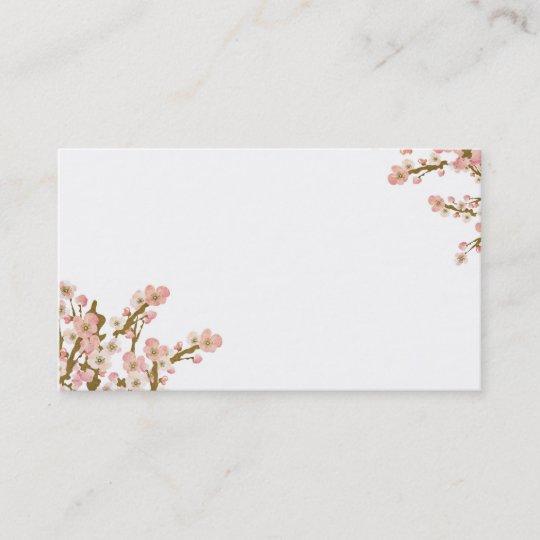 Cherry blossom tree business card zazzle cherry blossom tree business card colourmoves