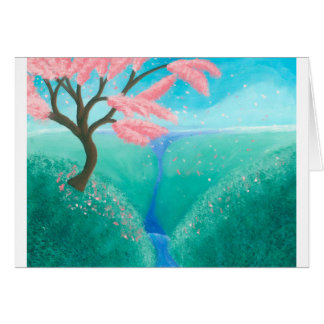 Cherry Blossom Tree Card