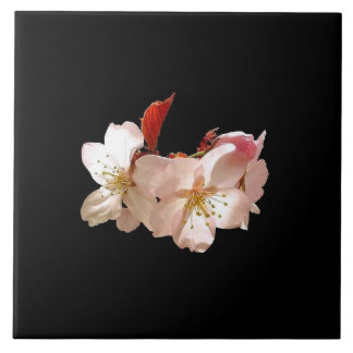 Cherry Blossom Trivet Large Square Tile