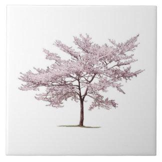 Cherry Blossom Trivet Tile
