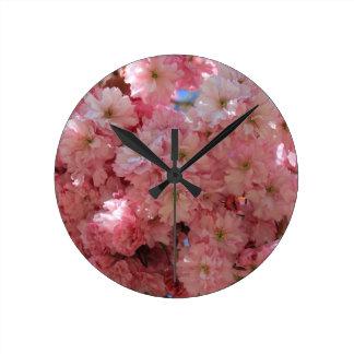 Cherry Blossom Wallclock