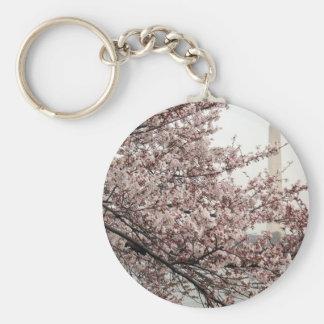 Cherry Blossom Washington DC Key Chains