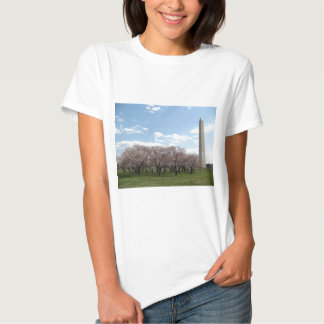 cherry blossom Washington dc T-shirts