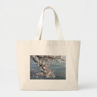 Cherry Blossom Washington DC Canvas Bag