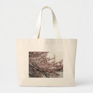 Cherry Blossom Washington DC Tote Bag