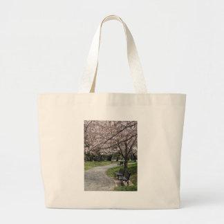 Cherry Blossom Washington DC Tote Bags