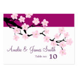 Cherry Blossom | Wedding Place Cards Pack Of Chubby Business Cards