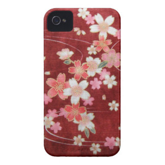 CHERRY BLOSSOM WISP - KIMONO PRINT COLLECTION iPhone 4 CASE