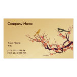 Cherry Blossom with Birds Pack Of Standard Business Cards