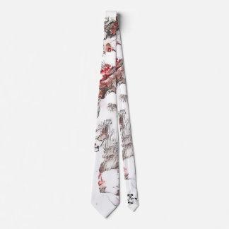 Cherry Blossom Wolfhound Necktie