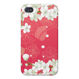 Cherry Blossoms 4 iPhone 4/4S Cases