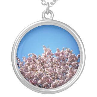 Cherry Blossoms Against The Sky Jewelry