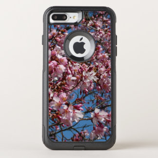Cherry Blossoms and Blue Sky Spring Floral OtterBox Commuter iPhone 8 Plus/7 Plus Case