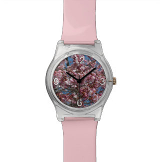 Cherry Blossoms and Blue Sky Spring Floral Watch
