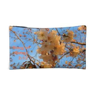 Cherry Blossoms and Song of Songs Cosmetic Bag