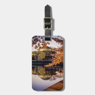 Cherry Blossoms And The Jefferson Memorial 2 Luggage Tag