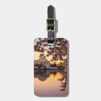 Cherry Blossoms And The Jefferson Memorial Luggage Tag