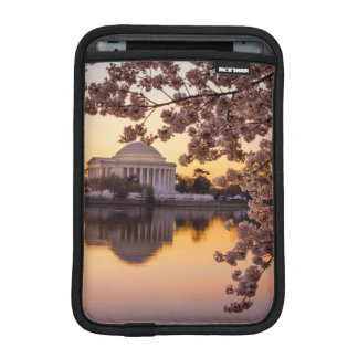 Cherry Blossoms And The Jefferson Memorial Sleeve For iPad Mini