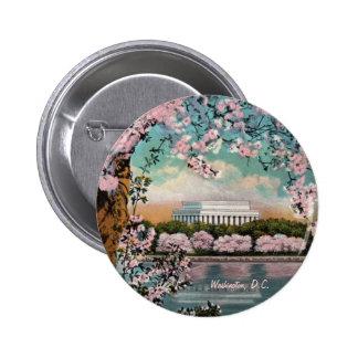Cherry Blossoms Button
