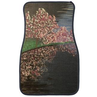 Cherry Blossoms Car Mat