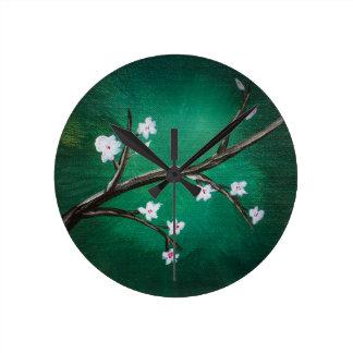 Cherry Blossoms Clock