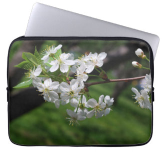 Cherry blossoms computer sleeves